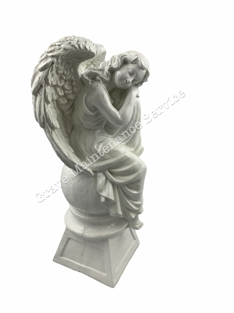 GMS-F1- Relaxing Angel Ornament