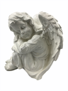 [DA03] GMS-F3- Sleeping Angel Ornament (Glossy White)
